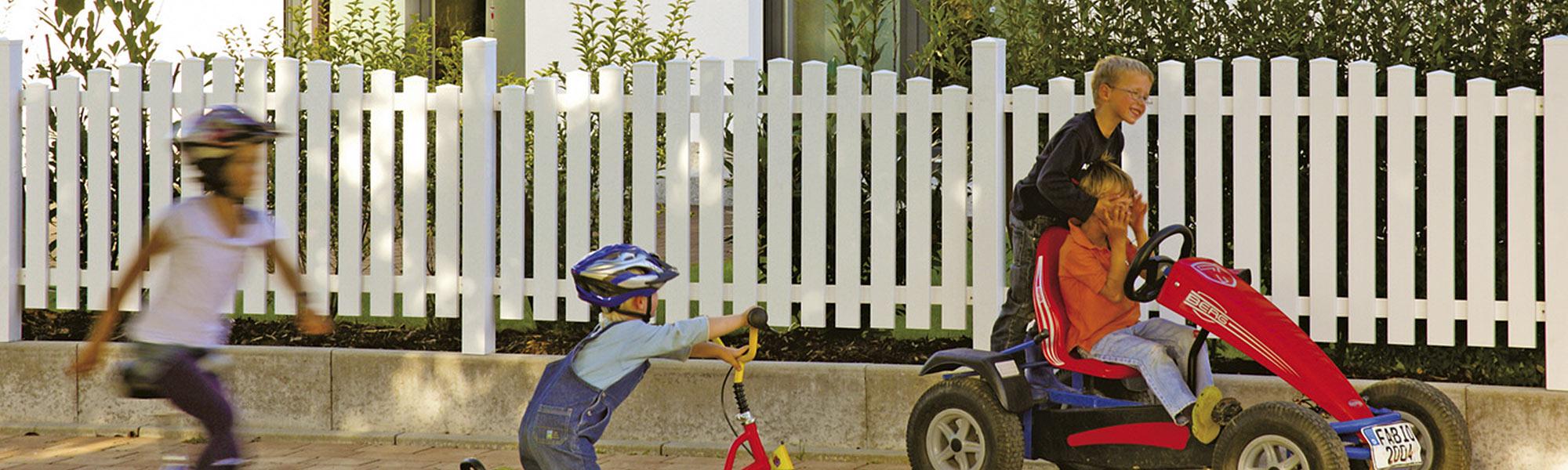 Sichtschutzzaun Holz Norderney ~ Douglasie Sichtschutz Elemente  Vorgartenzäune in verschiedenen