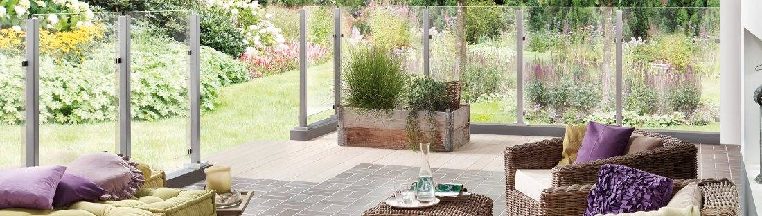 Sichtschutz Aus Glas Fur Den Garten Kaufen Glaszaun