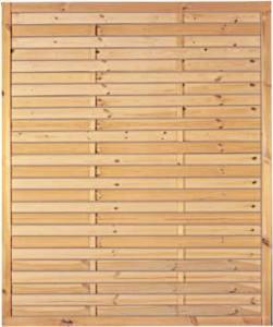 Lamellenzaun 150 X 180 Cm Holzzaun Gunstig Kaufen